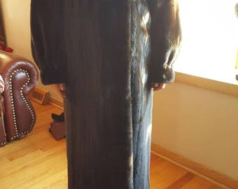 Mink fur coat long full lenght