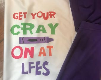 Get Your Cray On at LFES (order from this listing if you need it shipped)