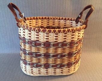 Handwoven Bucket Basket