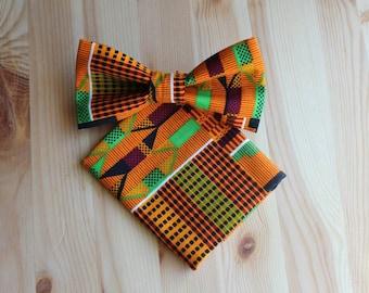 Unique Men Gifts - Men Gifts Sets - Gift Sets Men - Bow Tie Gift - African Gifts - African Set - African Men - Bow Tie Set - Unique Ties