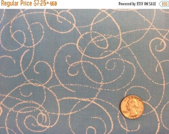 SALE Blustery Blue Fabric by Stephanie Thannhauser