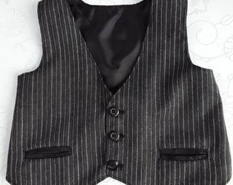 Boys Waistcoat, Boys Suit Waistcoat, Boys Formal Suit, Boys Formal Outfit, Boys Wedding Outfit, Waistcoat 4-5 years, Boys Christening Suit