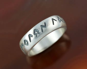 Molon Labe silver ring, Spartans ring, Leonidas ring, warrior ring, Greek ring, greek jewelry, ring of Leonidas, Come and get them ring