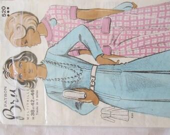 Pattern Bru dress Multi size 36-46 size