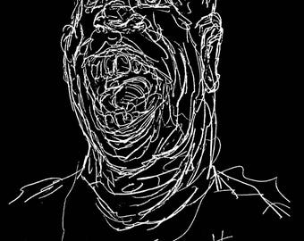 """Art shirt """"Head"""""""