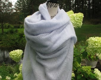 Knitted shawl warm shawl openwork shawl kid mohair scarf  knit shawl warm shawl big scarf knit stole shrug wrap women warm scarf soft scarf