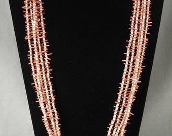 Cute Vintage Navajo Coral Necklace