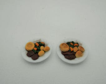 miniature food, doll house food, miniatures, doll house accessories, miniature accessories