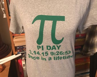Pi Day Commemerative Shirt