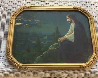 vintage jesus mount olive etsy