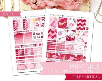 PRINTABLE MINI KIT: Love of Beauty/Erin Condren Vertical/Printable/Digital/Weekly Kit