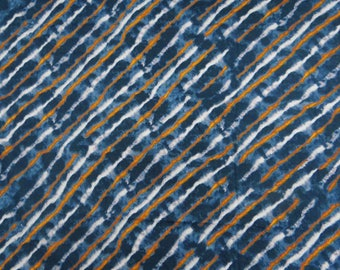 """Decorative Greyish Blue Fabric, Abstract Print, Sewing Crafts Fabric, Indian Decor, 45"""" Inch Cotton Fabric By The Yard ZBC6888A"""