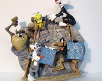 Looney Tunes Razz-A-Ma-Taz Bradford Exchange Round & Round 3D Collector Plate