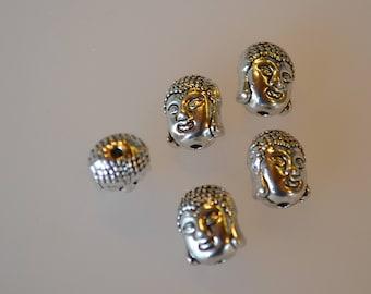 5 Buddha beads