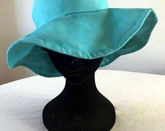 Handmade Cloche Bucket Hat