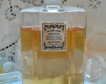 Houbigant, L'Eau d'Houbigant, 250 ml. or 8.45 oz. Flacon, Eau de Toilette, 1880's, Paris, France ..