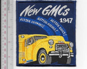 Vintage Automotive Truck General Motor Classic 1947 GMC Truck Promo Patch