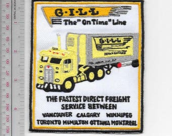 Vintage Trucking & Van Lines Canada G.I.L.L Freight Line Direct Freight Service Across Canada