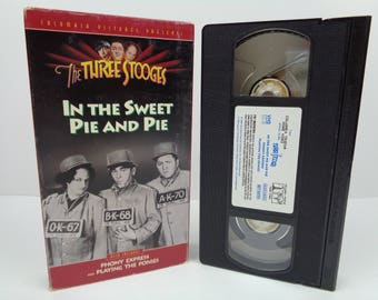 The Three Stooges In the Sweet Pie and Pie VHS Tape