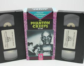The phantom creeps VHs Tape
