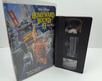 Disney's Homeward Bound 2 VHS