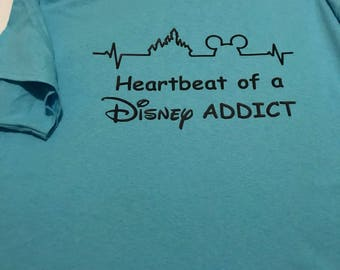 Heartbeat of a Disney Addict Shirt