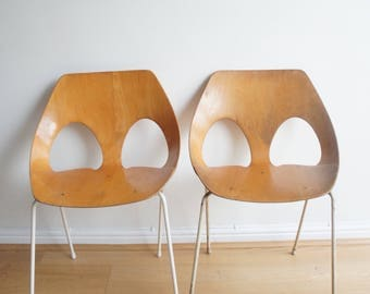 Mid Century Kandya Bent Plywood Frank Guille Jason Chair