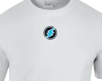 CryptoT Electroneum ETN Logo Tshirt