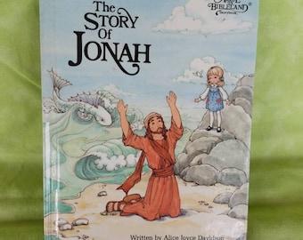 Alice in Bibleland The Story of Jonah (1984) Vintage Christian Children's Book