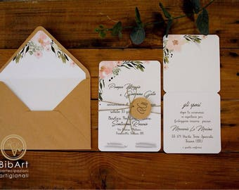 Participation country chic wedding