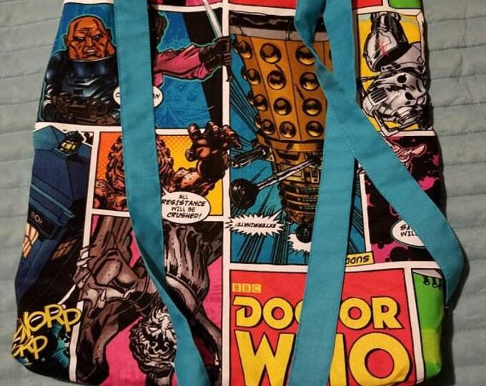 Dr Who tote shoulder bag