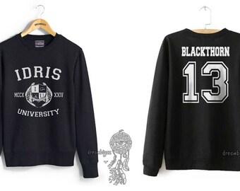 Blackthorn 13 Idris University Crew neck Sweatshirt