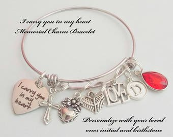 Memorial Gift, Memorial Jewelry, Grief and Mourning Gift, In Memorial Gift for Friend, Custom Memorial Gift, In Sympathy for Loss for Her