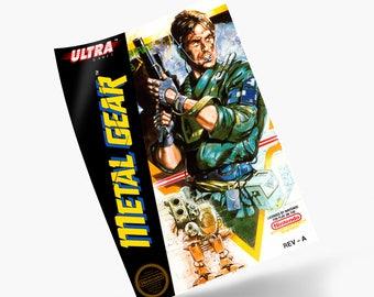Metal Gear NES Print