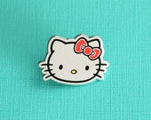 Classic Hello Kitty Enamel Pin // Official Sanrio Licensed Product // Lapel Pin, Pin Badge