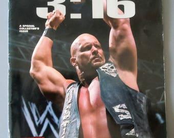 Wrestling Raw Magazine Presents  Steve Austin 3:16 1999 wwe Stone Cold wwf