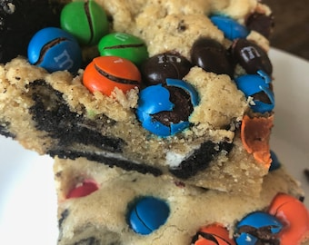 Loaded M&M Oreo Cookies, Delicious Oreo Cookies, Chocolate Cookies, Homemade Cookies, Oreo Candy Cookies, Chocolate Biscuits