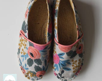Made to Order Espadrilles // Handmade