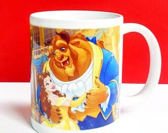 Beauty and the Beast Coffee Mug