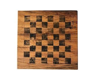 Reclaimed Wood Game Board