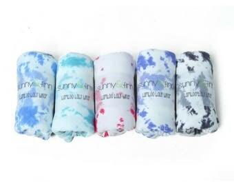 Smoke Tie Dye - Bamboo baby wrap