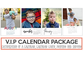 The Calendar VIP Package for 5x7 Photo Calendars