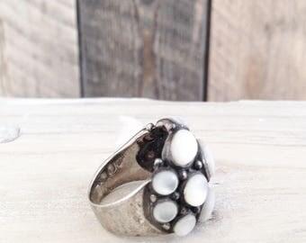 Ring Moonstone Silver