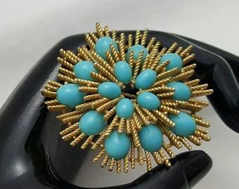 AVON Faux Turquoise Pin