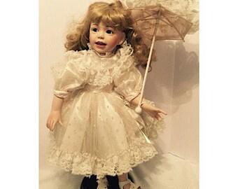 Vintage Porcelain Doll by Camelot