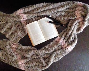 Handmade crochet stole, aplaca and merino stoles, wool scarf, handmade scarf, crochet scarf