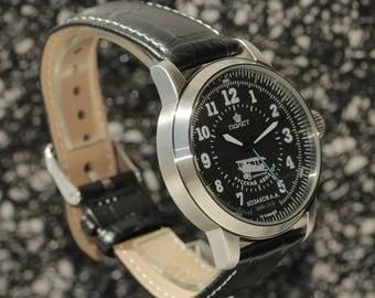 Raketa. Aviator.Russian watch. Mechanical watch. Mens Watch.raketa.Russian watches