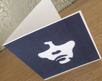 ian brown  birthday card with envelope square