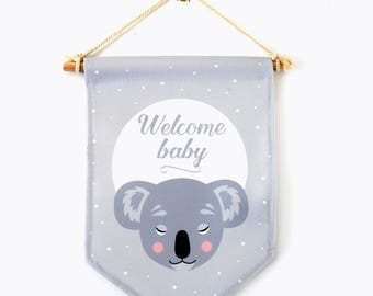 "Banners ""have sweat dreams"" panda, wall decor, kid's room, nursery decor"