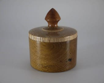 Oak and Ash lidded box
